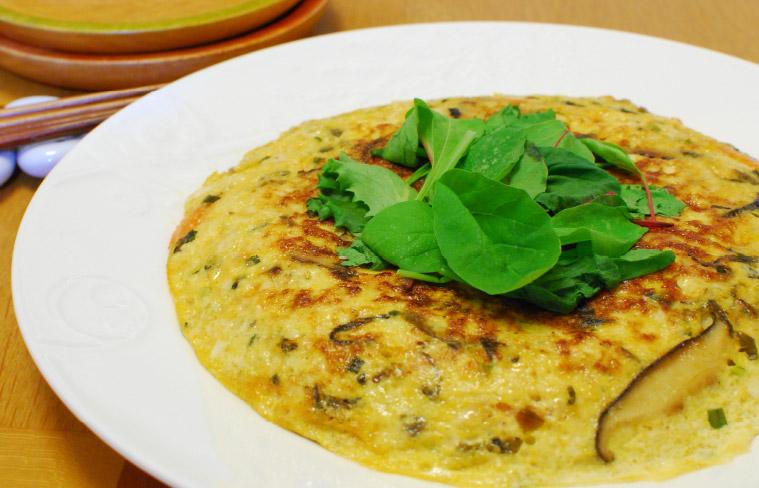 ごま高菜の擬製豆腐